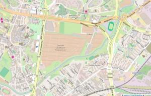 Łączność i ciągłość w dużej skali Mapa Tatary Stare Miasto