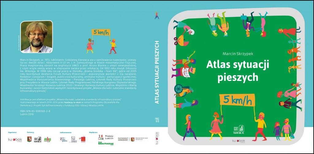 Atlas sytuacji pieszych okladka